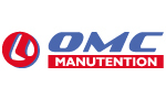 logo OMC MANUTENTION, concessionnaire Manitou, Mustang By Manitou